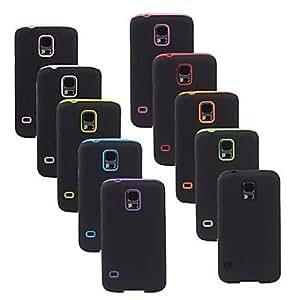 Mini - Silicon Back Case for Samsung Galaxy S5 I9600 ,Color: Rose