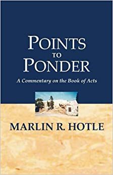 Book Points to Ponder (Commentary on Acts)