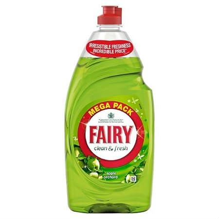 Fairy detergente líquido Apple Orchard 900 ml funda de 6: Amazon ...