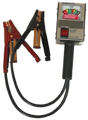 Hand Held Load Testers - 125 amp hand held load tester 6/12 volt