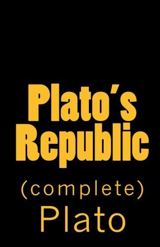 Plato's Republic (complete) pdf epub