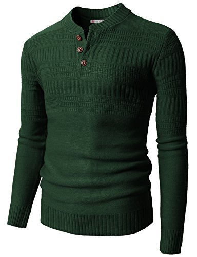 h2h-mens-long-sleeve-thermal-henley-pullover-khaki-us-m-asia-l-kmoswl0127