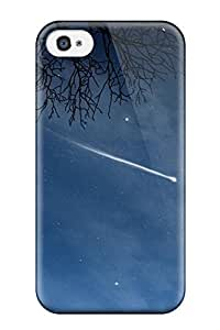 Top Quality Rugged Full Moons And A Falling Star Case Cover For Iphone 4/4s