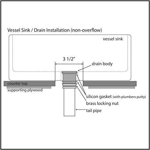 Decor Star Pu 001 Tb 1 5 8 Quot Bathroom Faucet Vessel Vanity