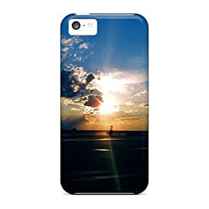 MMZ DIY PHONE CASESeries Skin Case Cover For iphone 6 plus 5.5 inch(airport Sunset)