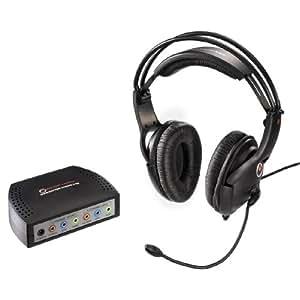 Raptor 00052921 Gaming H2 - Auriculares 5.1 con micrófono