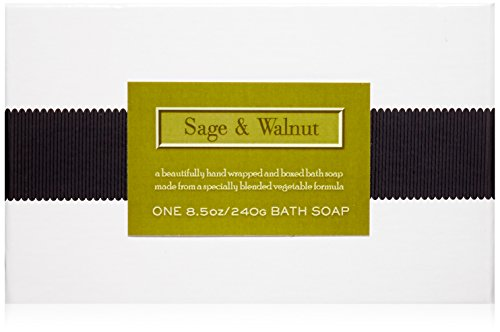 LAFCO House & Home Bath Soap, Sage & Walnut, 8.5 Oz