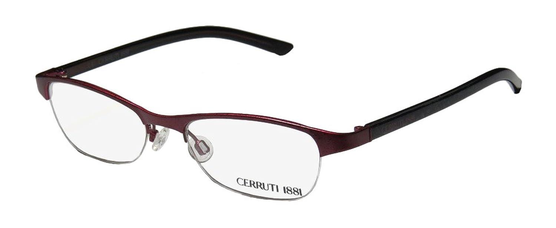 Cerruti 1881 C1241 Womens/Ladies Rxable Latest Season Designer Half-rim Eyeglasses/Eyewear