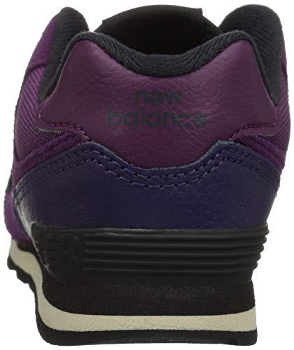 New Core 574v2 Bambini Claret black Balance Sneaker Lace Violet Unisex E6rwExq7