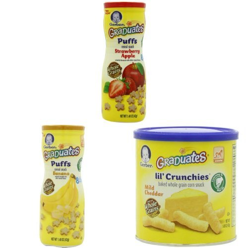 Gerber Graduates Puffs and Lil' Crunchies Variety Pack
