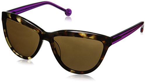 Jonathan Adler Women's POSITOK60 Cateye Sunglasses, Tokyo/Tortoise UF, 60 - Case Adler Sunglass Jonathan