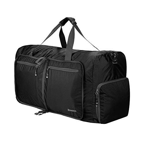 Homdox 80L Large Duffle Bag for Men Women,Waterproof Lightweight Foldable Camping Duffel Bag,Large Gym Bag for Men,Travel Luggage Storage Duffel Bag Large Size