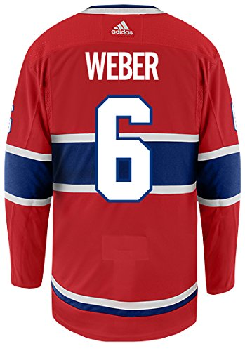 ad561456c Amazon.com   adidas Shea Weber Montreal Canadiens Authentic Home NHL ...