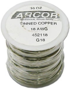 Pre Wire Tinned - 18 Gauge Pre-Tinned Wire
