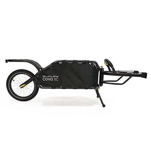 Burley Coho XC, Single Wheel Suspension Cargo Bike Trailer
