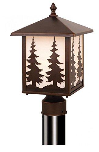 (VAXCEL One Light Outdoor Post OP33485BBZ One Light Outdoor Post)