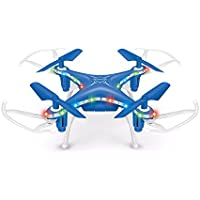 Littleice X13D Mini Drone 2.4GHz 4CH Led Remote RC Quadcopter 3D Rollover Christmas Gift (Blue)