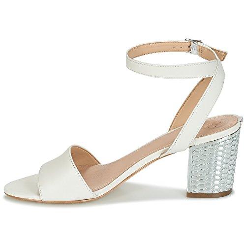 Dress con Donna alla beige Sandali Guess Caviglia Cinturino Footwear 5q8t5O0