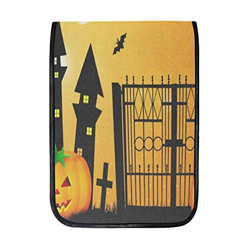 Ipad Pro 12-12.9 inch Sleeve Case Bag for Surface Pro Halloween Pumpkin Cool Mac Protective Carrying Cover Handbag for 11