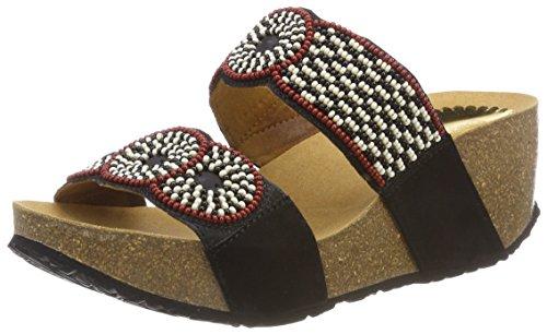 Shoes Con cycle Nero Desigual Zeppa 2000 Negro Bn Donna Sandali Africa dORqAw