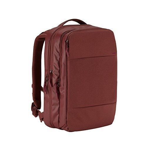 Incase City Commuter Backpack (Deep Red - INCO100146-DRD) [並行輸入品] B06X6FZ8BH