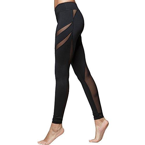 TITIKA Waistband Splicing Breathable Leggings