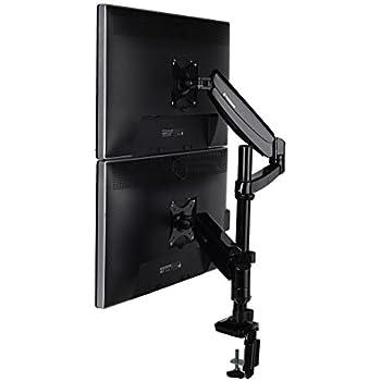 Amazon Com Fleximounts Vertical Dual Monitor Mount Lcd