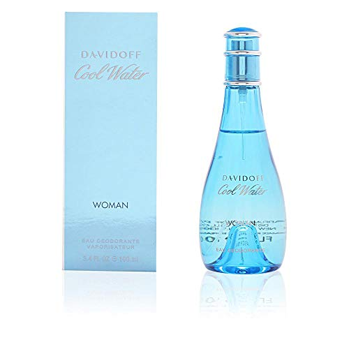 Cool Water by Zino Davidoff | Eau de Toilette | Fragrance for Women | Ocean Breeze and Sea-Water Scent | 100 mL / 3.4 fl ()