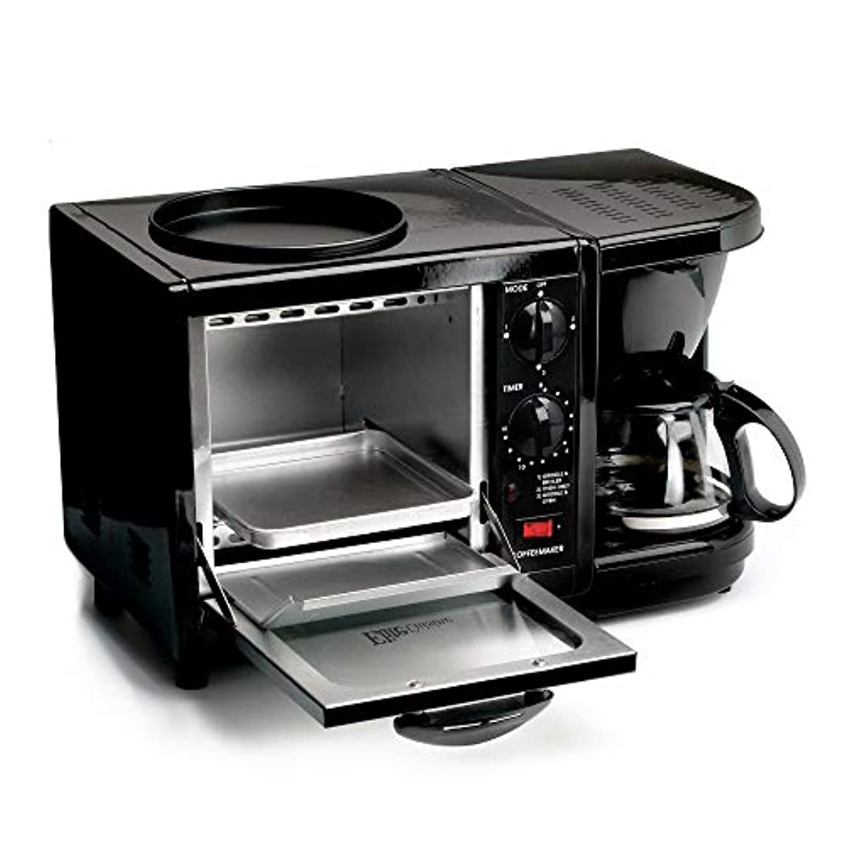 Elite Cuisine Ebk 200b Maxi Matic 3 In 1 Multifunction