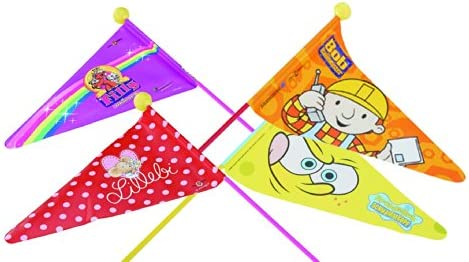 Banderín de seguridad para bicicleta Euro-SoPo - bandera - de fibra de vidrio con forma de bandera para ruedas FILLY UNICORN - Motiv für Mädchen: Amazon.es: Deportes y aire libre