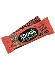 Adonis Low Sugar Crunchy Pecan Snack Bars | 100% Natural, Low Carb, Vegan, Gluten Free, Keto, Paleo