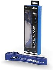 PTP SuperBand Muscle Up Resistance Band, Blue, Medium