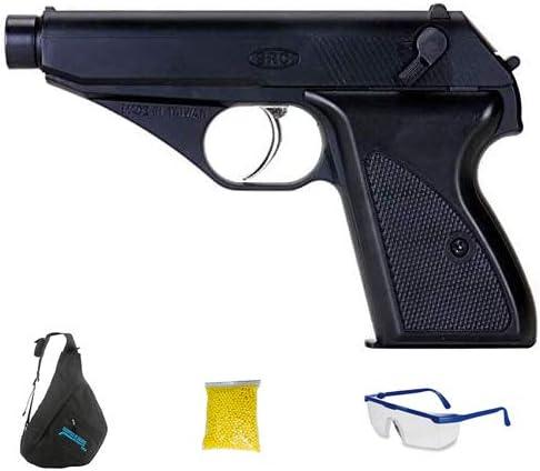 SRC GGH-0402 BLACK (Gas - Pistola de Airsoft Calibre 6mm (Arma Aire Suave de Bolas de plástico o PVC). Sistema: Gas <3,5J