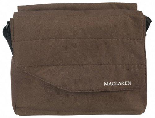 Maclaren BMW - Bolso cambiador, color negro Marrón (Coffee)