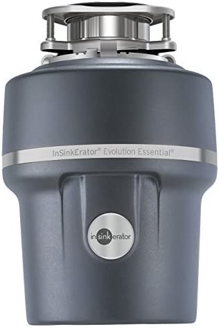 InSinkErator Essential XTR 3 4 HP Household Garbage Disposer, Gray Renewed