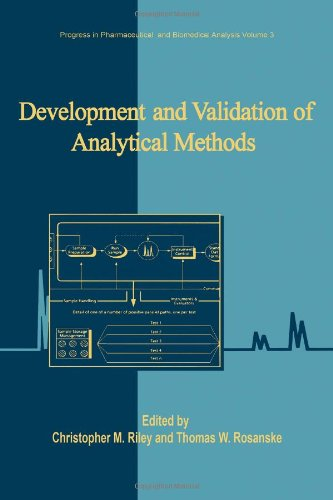 Development and Validation of Analytical Methods, Volume 3 (Progress in Pharmaceutical and Biomedical Analysis) (Validation Of Analytical Methods For Pharmaceutical Analysis)