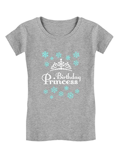 Birthday Princess Little Girls Gift Adorable Toddler/Kids Girls' Fitted T-Shirt