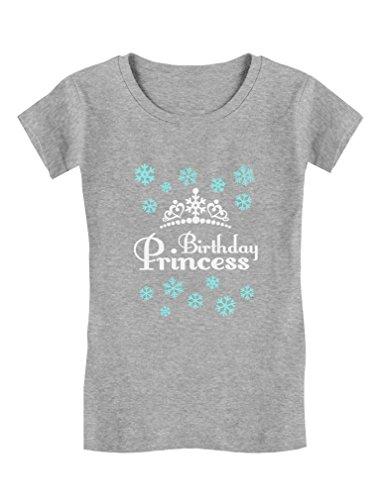 Birthday-Princess-Little-Girls-Gift-Adorable-ToddlerKids-Girls-Fitted-T-Shirt