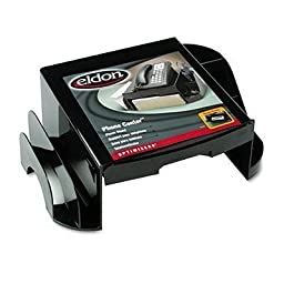 Rubbermaid Office Solutions Rolodex Optimizer Phone Center, Black