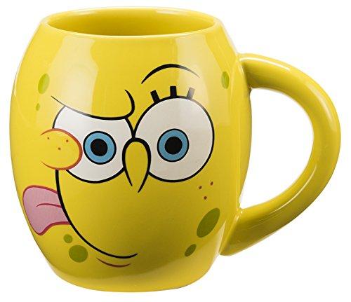 vandor-21061-spongebob-square-pants-oval-ceramic-mug-18-ounce-multicolored