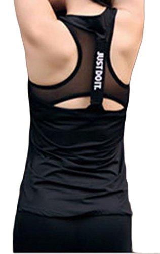 放つ学習長方形BSCOOLレディース ヨガ フィットネス ベスト タンクトップ トップス ダンスウェア キャミソール スポーツ服 トレーニング