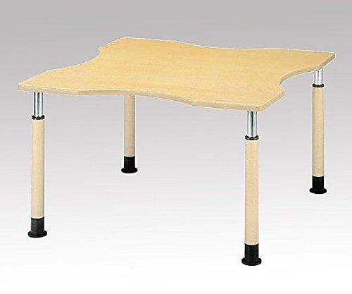 8-2440-02昇降式テーブル(変形型/1200×1200×595~795mm) B07BDNGJJC