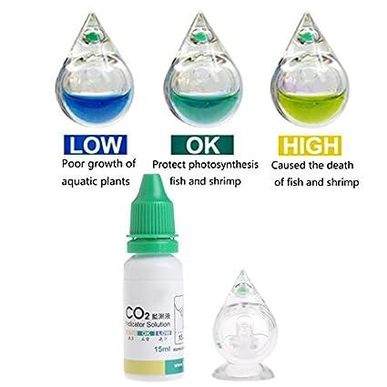 Pet Supplies Aquarium Co2 Glass Drop Checker-test Aquarium Co2 Ph Indicator Solution