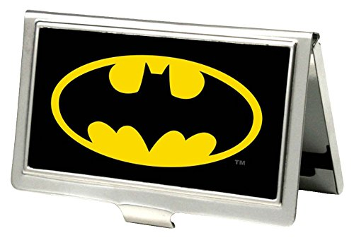 Batman DC Comics Superhero Classic Bat Logo Business Card Holder at Gotham City Store