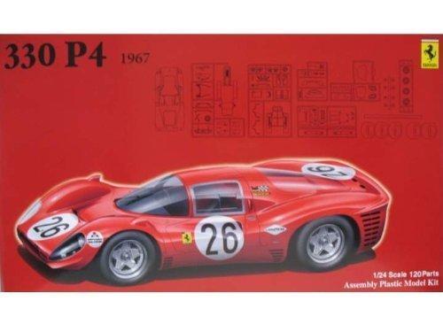 フジミ模型 1/24 ヒストリックレーシングシリーズNo.34 フェラーリ330P4 26号車 デイトナ3位入賞車の商品画像
