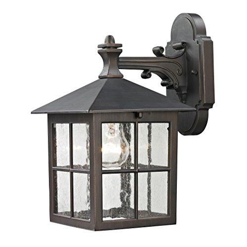 Cornerstone Lighting 8201EW/70 Shaker Heights Coach Lantern, Hazelnut Bronze