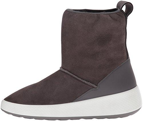 store official store pick up ECCO Women's Women's Ukiuk Short Snow Boot, Slate/Slate, 39 ...