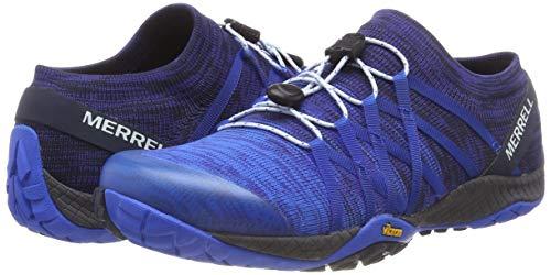 Chaussure Merrell Pour Trail Femme Glove De Blue blue Fitness Sport Sport Bleu Tricots 4 ZASqA