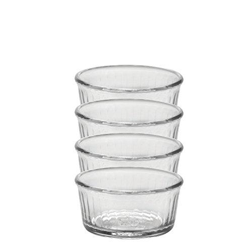 (Duralex Made In France 4-Ounce Glass Ramekin, Set of 4 )
