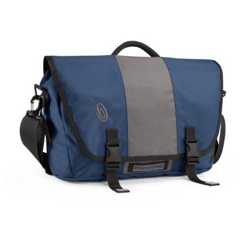Timbuk2 Commute Laptop Travel-Friendly Messenger Bag, Medium, Dusk Blue/Gunmetal/Dusk Blue